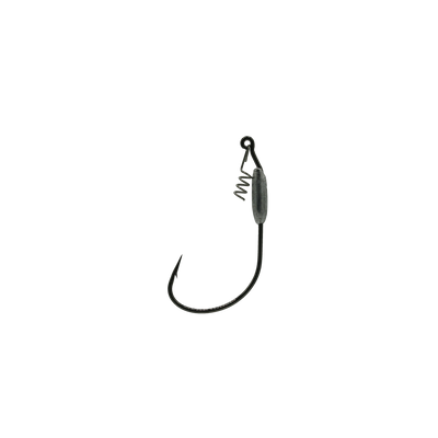 4/0 Black 1/16oz Jerk Bait Hook With Corkscrew Keeper