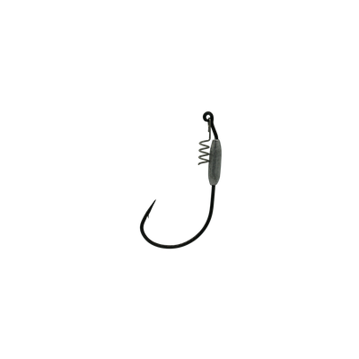 3/0 Black 1/16oz Jerk Bait Hook With Corkscrew Keeper