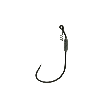 8/0 Black 1/16oz Swim Bait Hook With Corkscrew Keeper