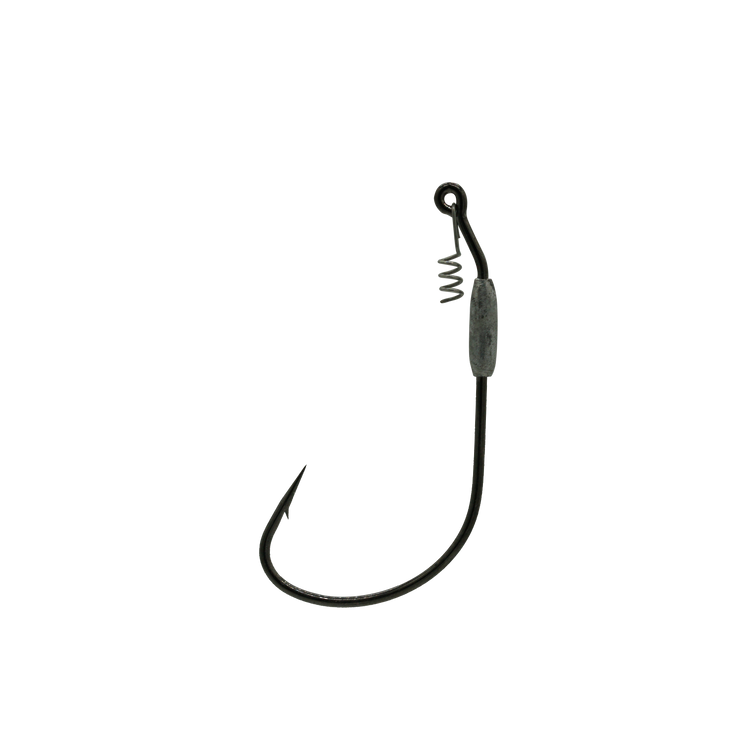 8/0 Black 1/32oz Swim Bait Hook With Corkscrew Keeper