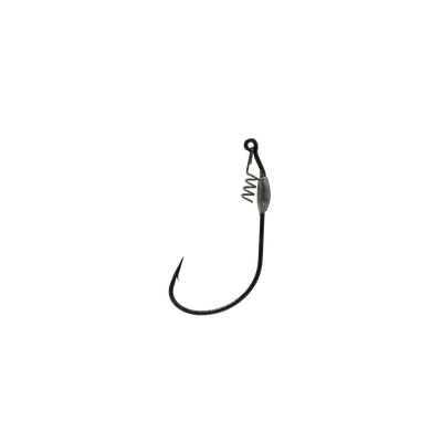 4/0 Black 1/32oz Jerk Bait Hook With Corkscrew Keeper