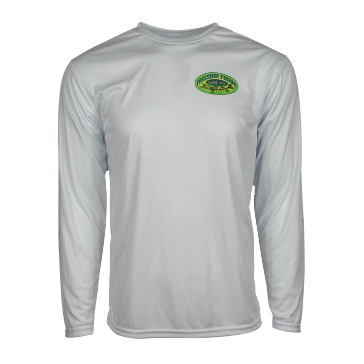 Mission Fishin White Performance Shirt