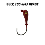 1oz 6/0 Double Barbed Jig Heads (Bulk)