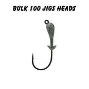1/8oz 3/0 Double Barbed Jig Heads (Bulk)