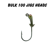 1/16oz 2/0 Double Barbed Jig Heads (Bulk)