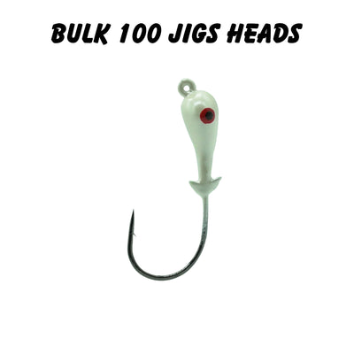 1/2oz 4/0 Double Barbed Jig Heads (Bulk)