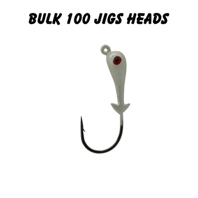 3/8oz 3/0 Double Barbed Jig Heads (Bulk)