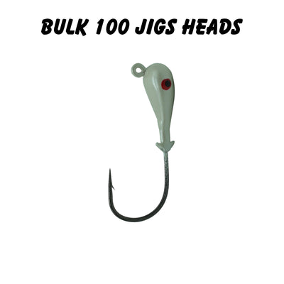 3/4oz 5/0 Double Barbed Jig Heads (Bulk)