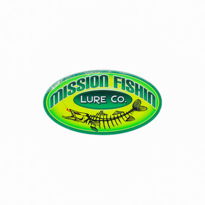 Mission Fishin Classic Sticker