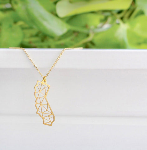 TX Texas State Map Necklace | 11:11 WISH