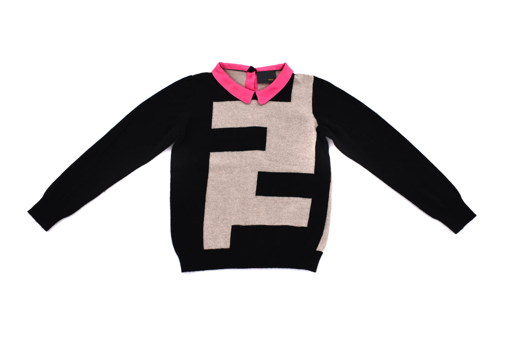 Fendi, Girls Sweater, 7 Years
