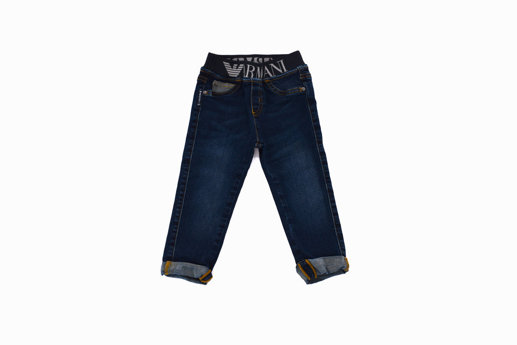 Armani, Baby Boys Jeans, 9-12 Months