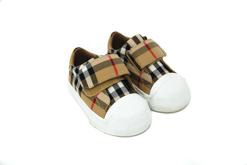 Burberry, Baby Boys Trainers, Size 19