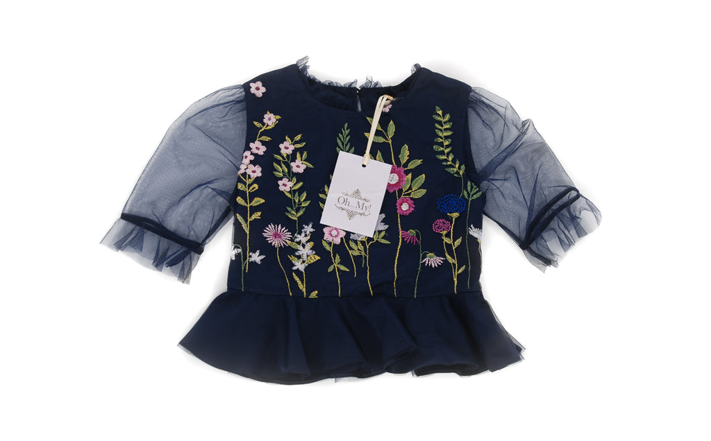 Oh...My!, Girls Blouse, 6 Year