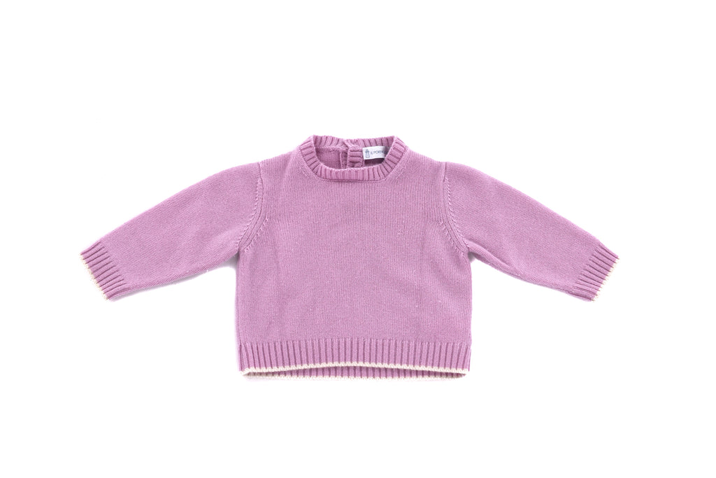 Il Porticciolo, Baby Girls Sweater & Pants, 12-18 Months