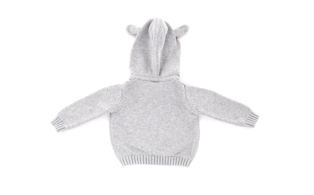 The Little White Company, Baby Girl Hoodie, 0-3 Months