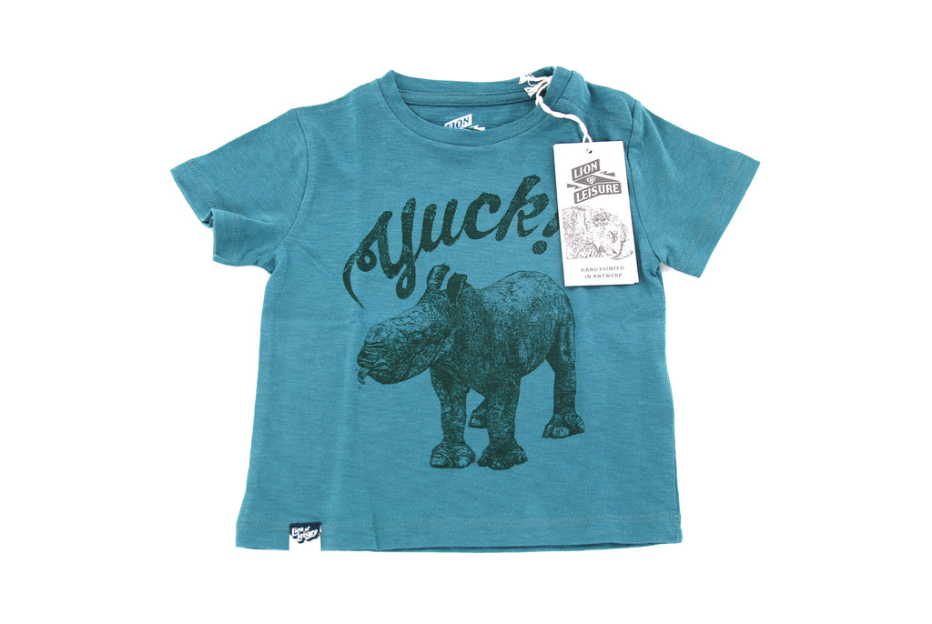 Lion of Leisure, Baby Boys T-Shirt, 6-9 Months