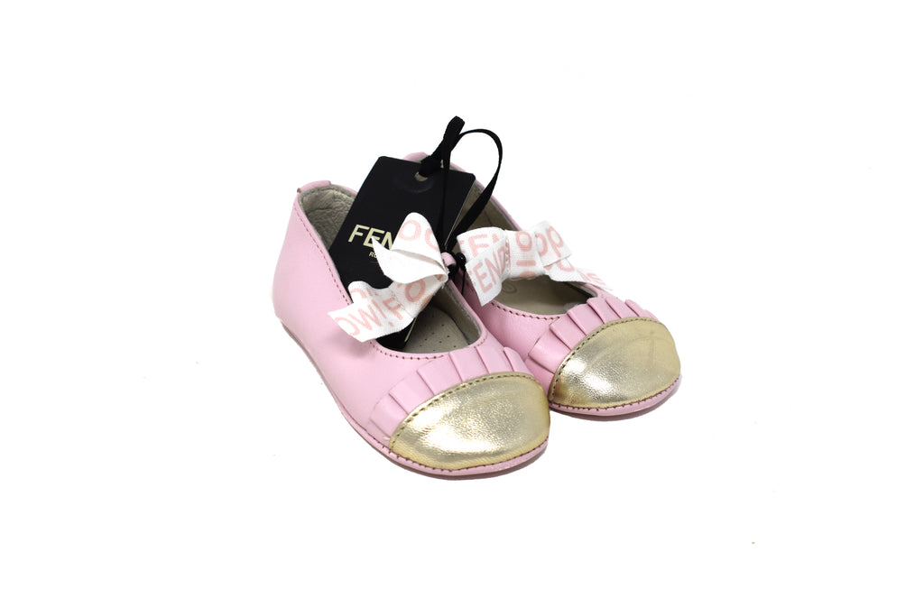 Fendi, Baby Girls Shoes, Size 19