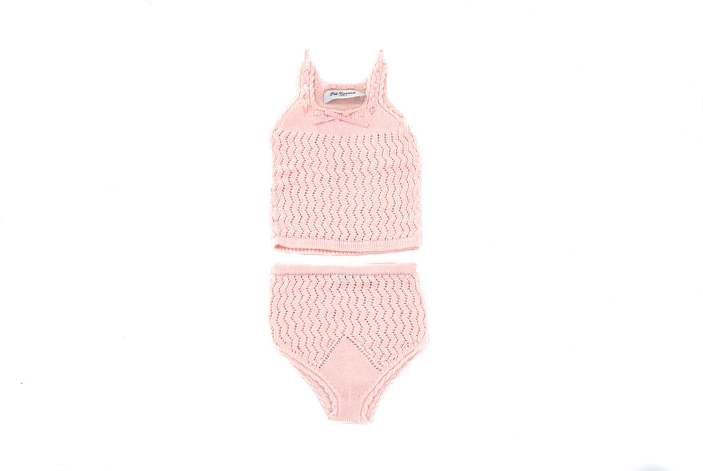 Pili Carrera, Baby Girls Top and Bottoms, 0-3 Months