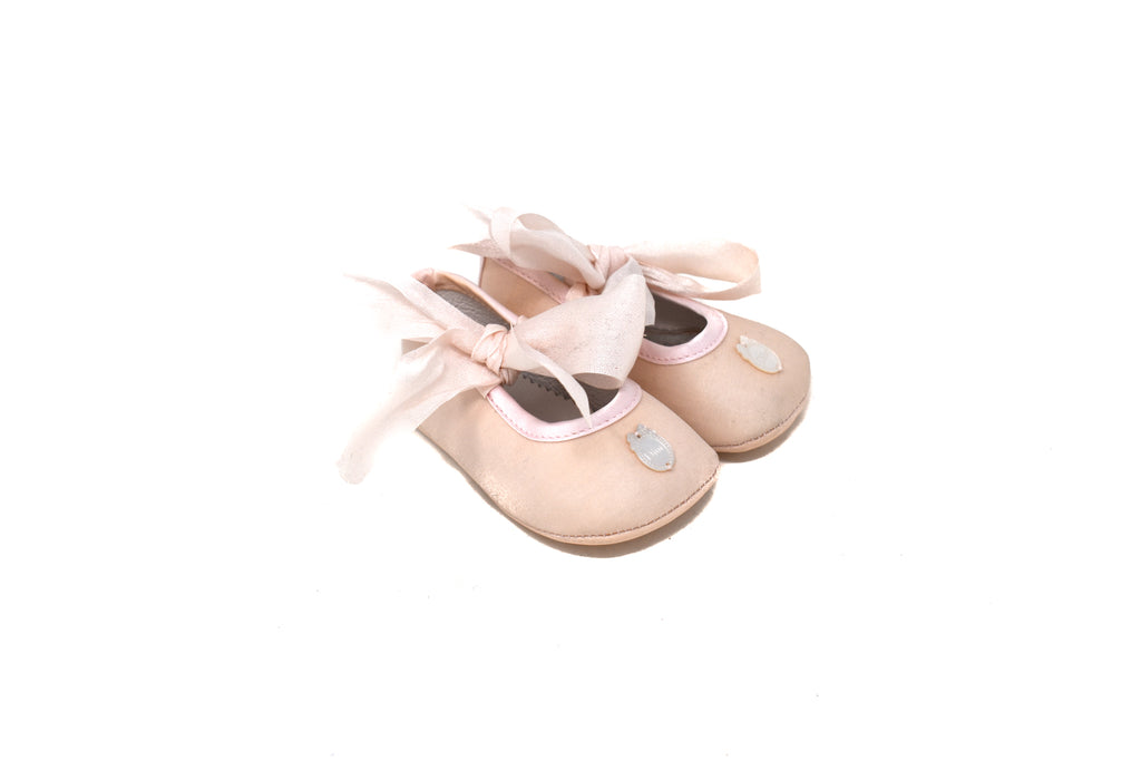 Dior, Baby Girl Pram Shoes, 0-3 Months