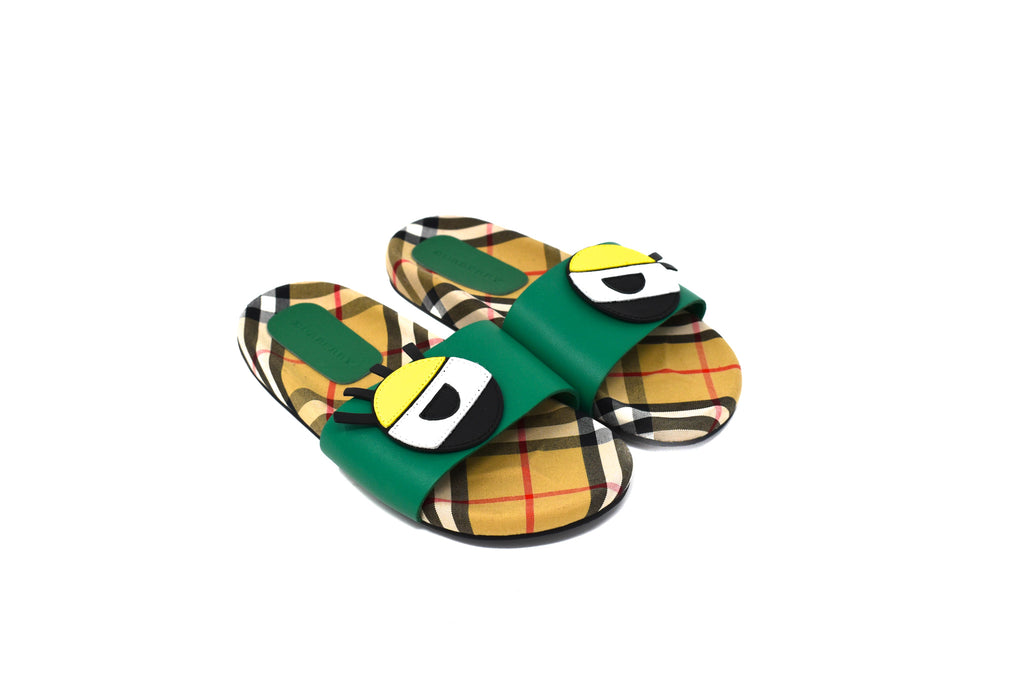 Burberry, Boys Sliders, Size 33