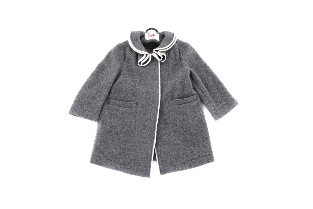 Il Gufo, Girls Cardigan Coat, 3 Years