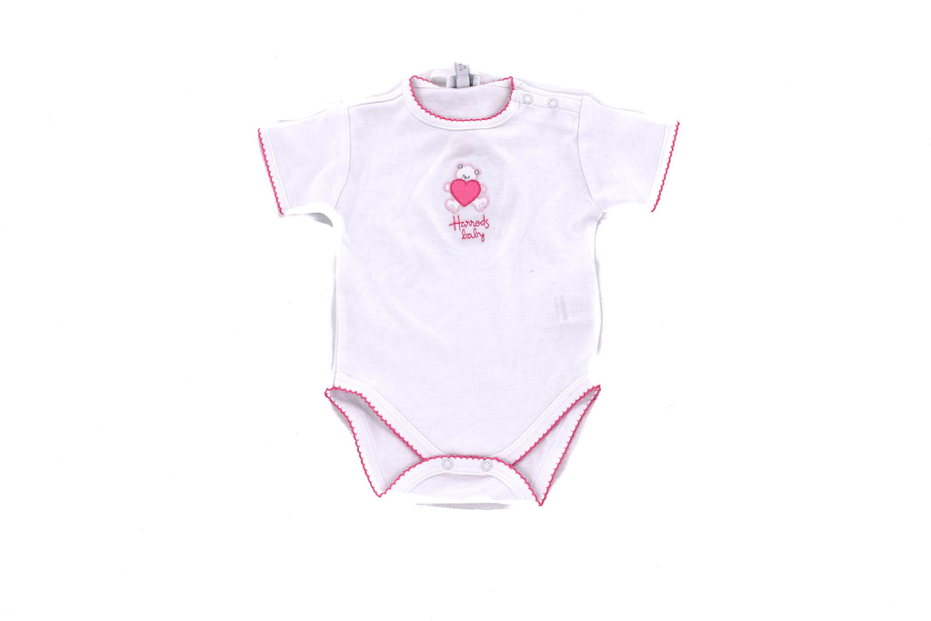 Harrods of London, Baby Girl Body & Bib, 0-3 Months