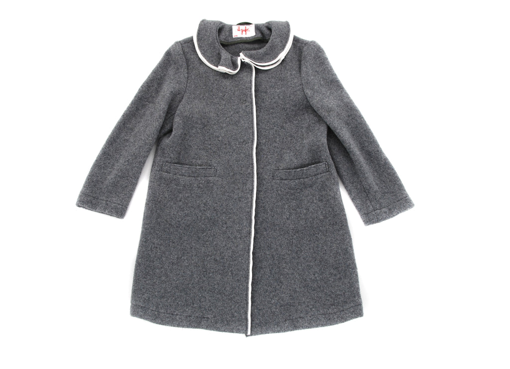 Il Gufo, Girls Cardigan Coat, 10 Years