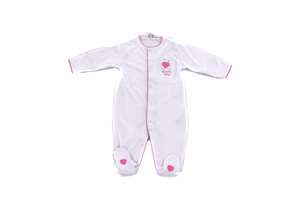 Harrods of London, Baby Girl Babygrow & Hat, 0-3 Months