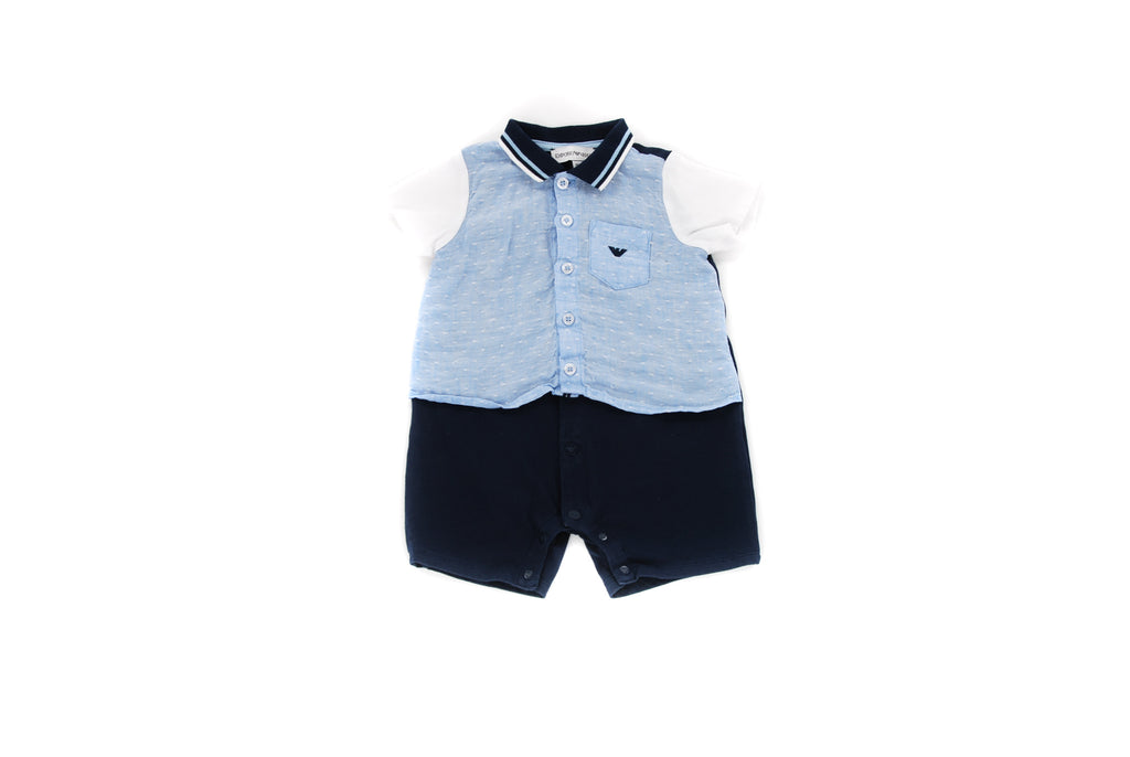 Emporio Armani, Baby Boys Shirt and Bottoms, 3-6 Months