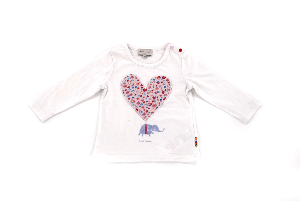 Paul Smith Junior, Baby Girls T-Shirt, 6-9 Months