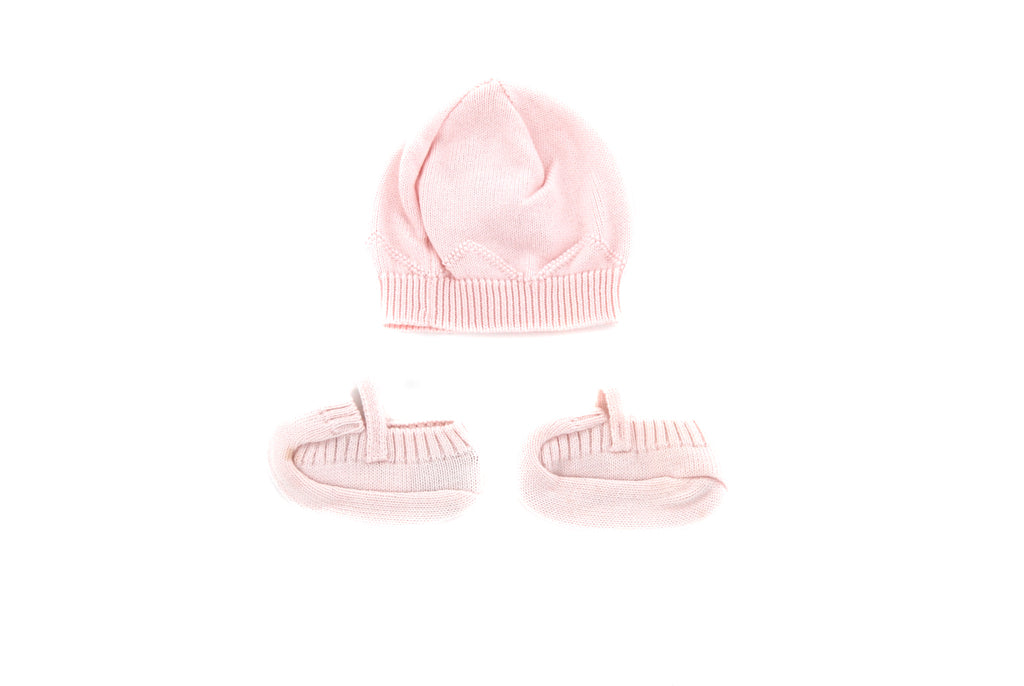 Pepa & Co, Baby Boys/Girls Hat & Booties, Size 16
