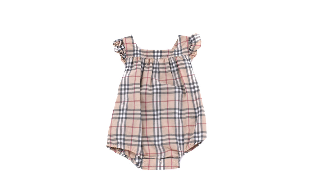 Burberry, Baby Girls Romper, 3-6 Months