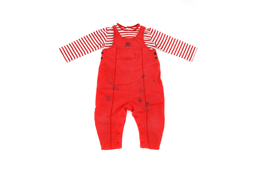 Catimini,  Baby Girls Dungarees, 9-12 Months