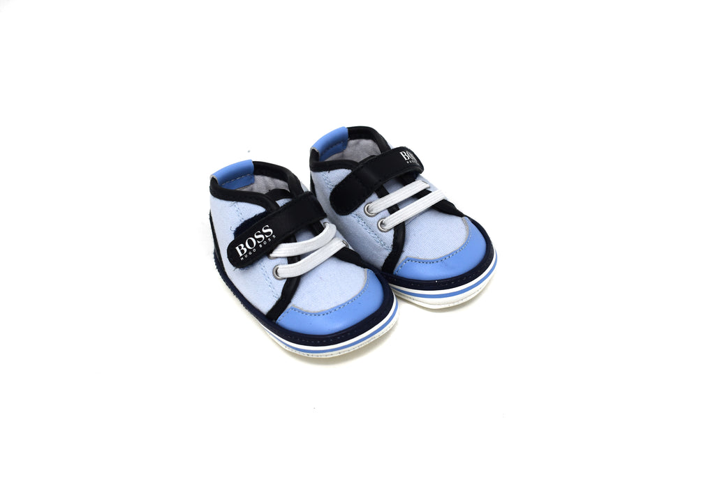 Boss, Baby Boy Pram Shoes, Size 17