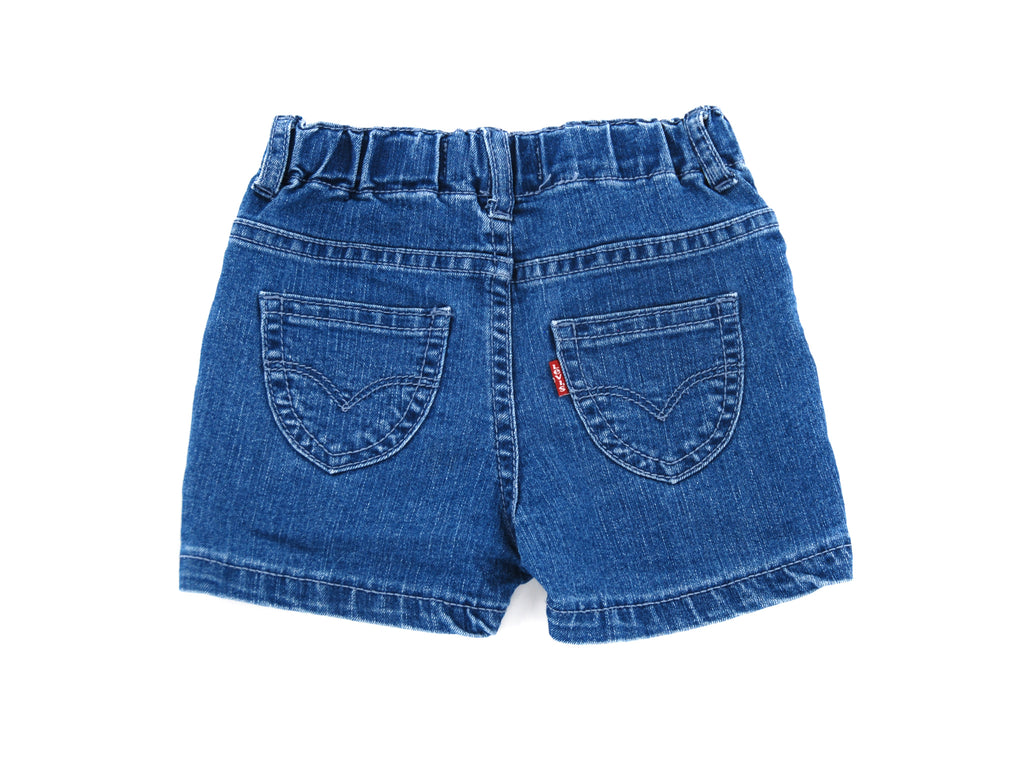 Levis, Baby Girls/Boys Shorts, 2 Years