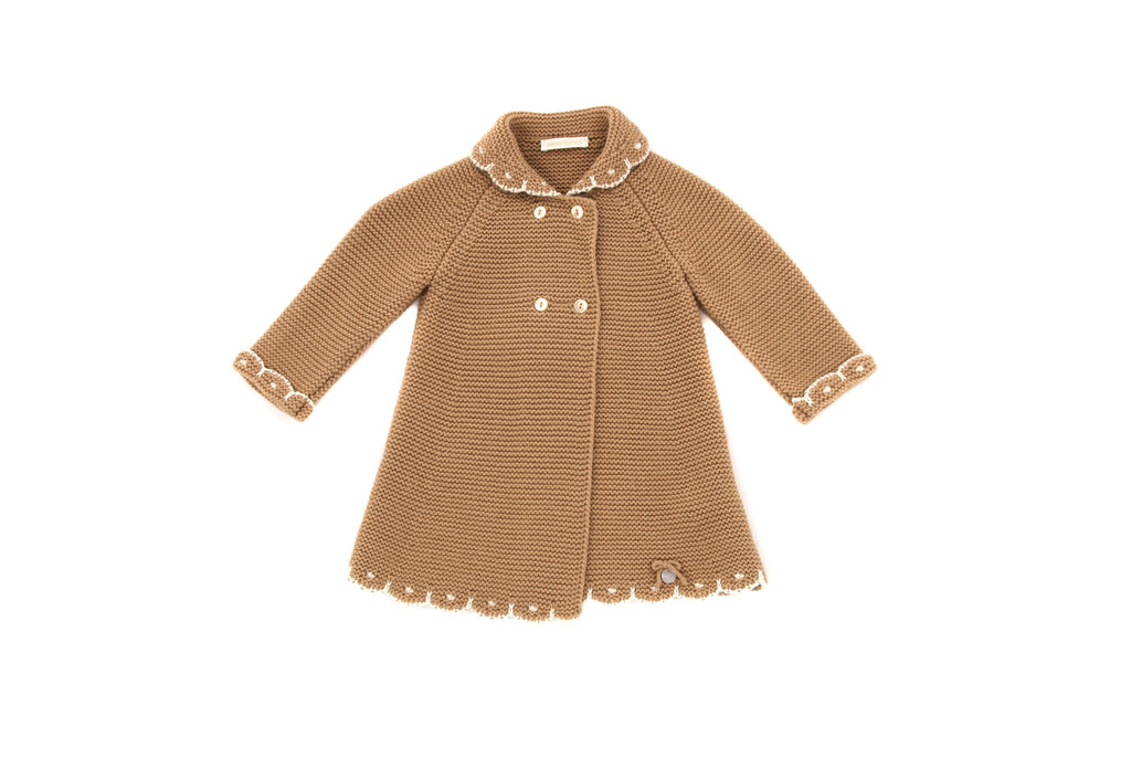 Cesar Blanco, Baby Girls Coat, 12-18 Months