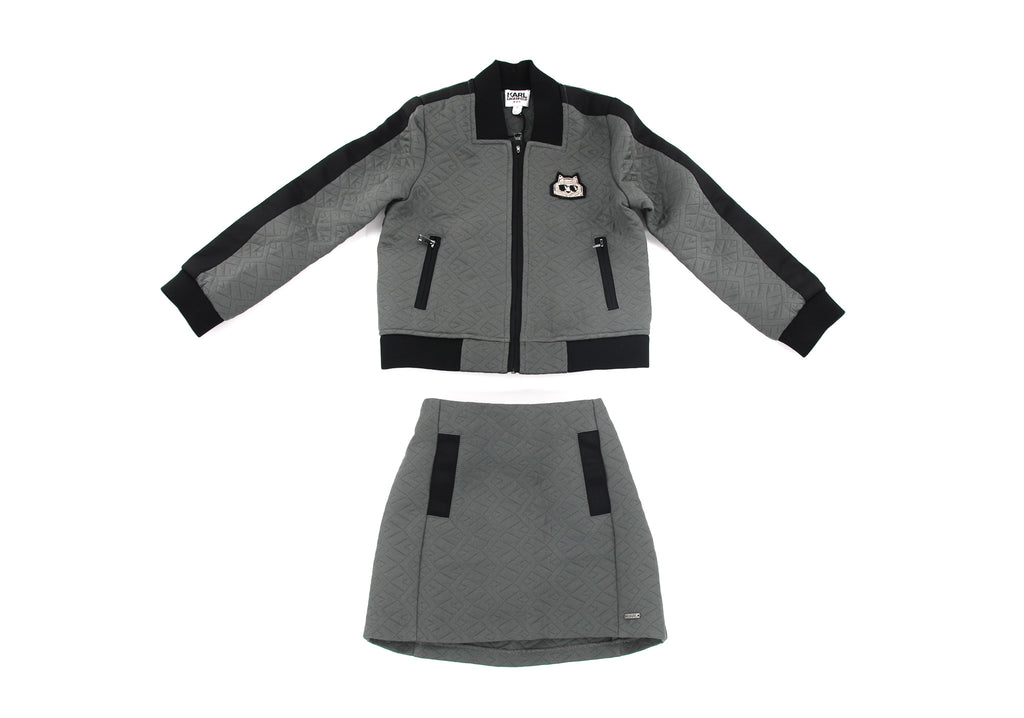 Karl Lagerfeld Kids, Girls Jacket & Skirt, 5 Years
