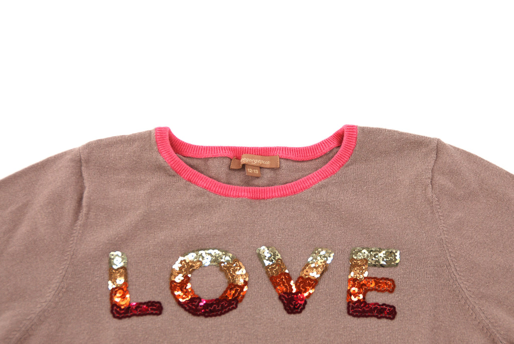 I Love Gorgeous, Girls Sweater, 12 Years