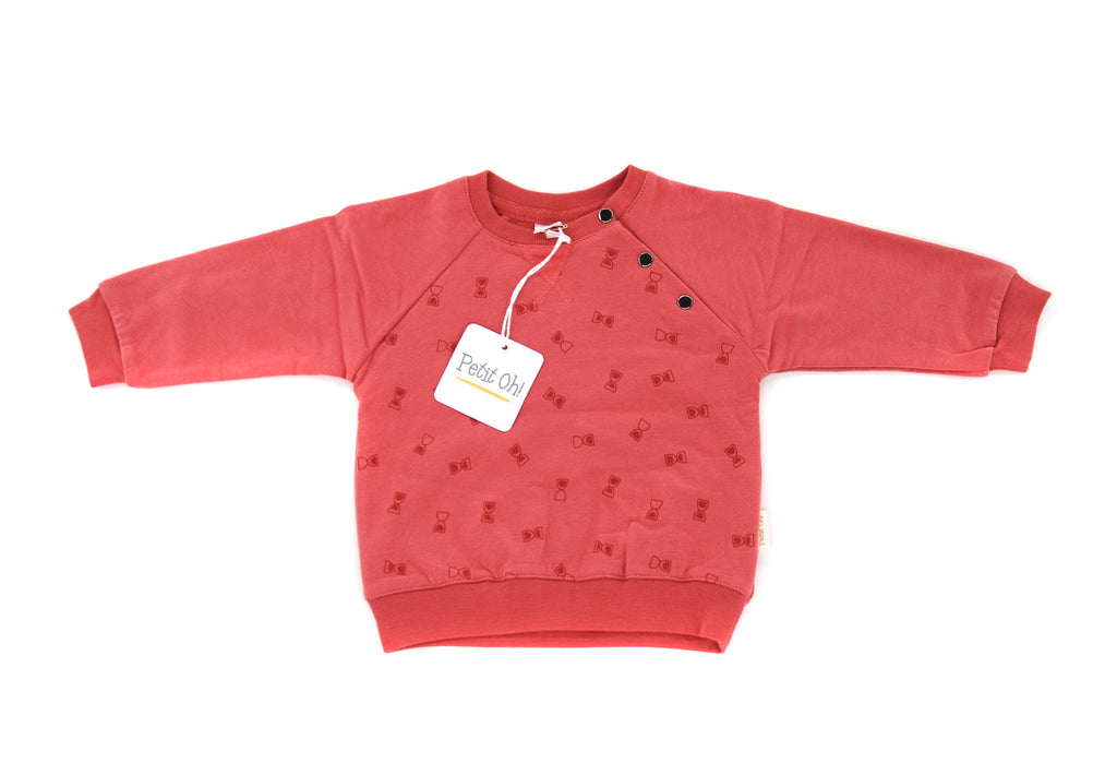 Petit Oh!, Girls Sweatshirt, Multiple Sizes