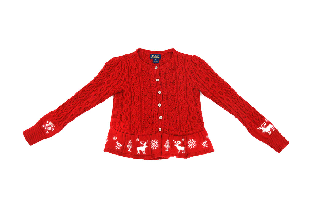 Ralph Lauren, Girls Cardigan, 6 Years