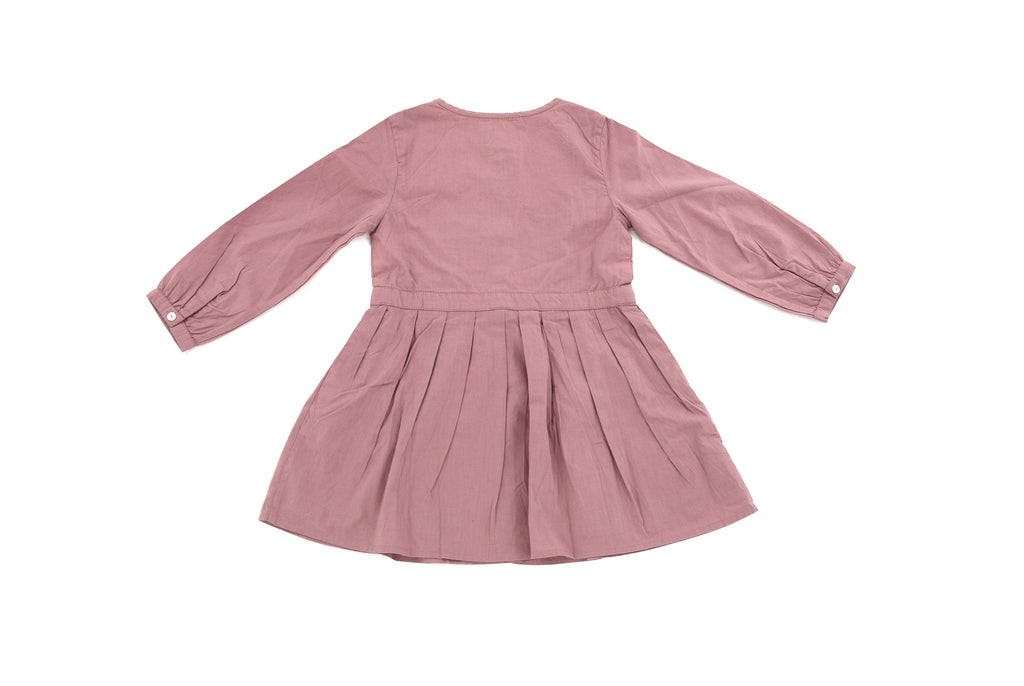 Bonnet à Pompon, Girls Dress, 4 Years