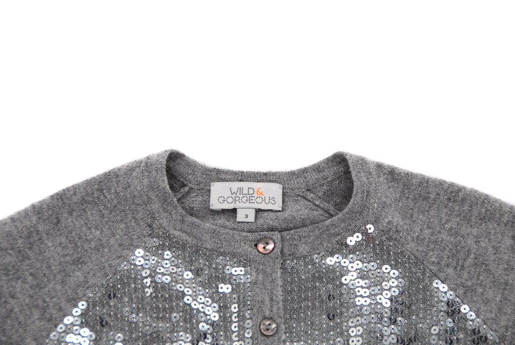 Wild & Gorgeous, Girls Cardigan, 3 Years