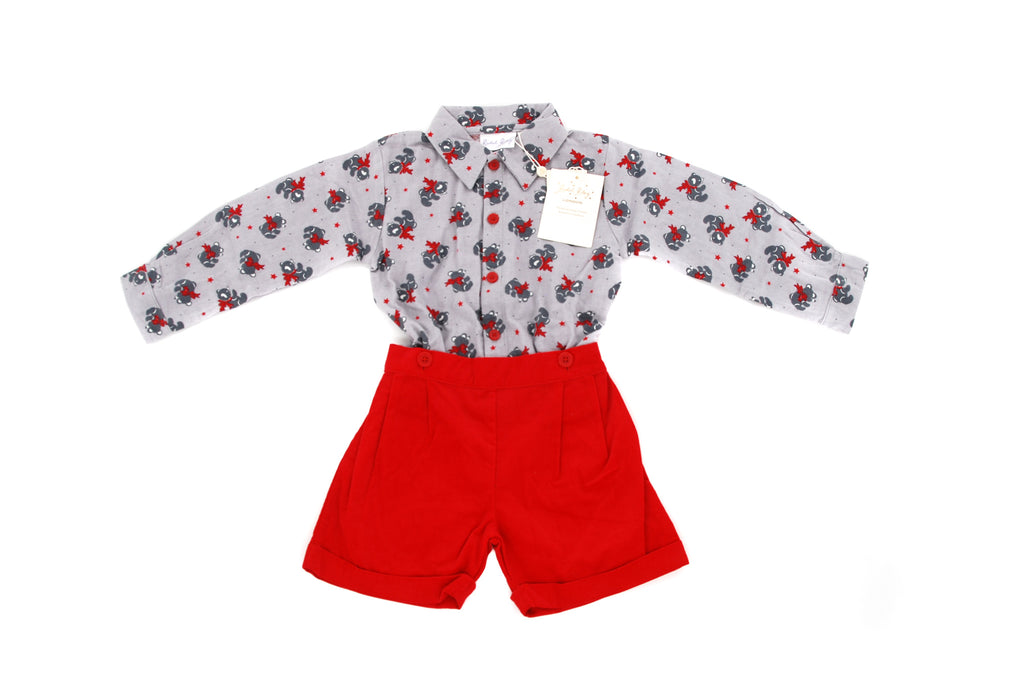 Rachel Riley, Boys Shirt and Shorts Set, 2 Years
