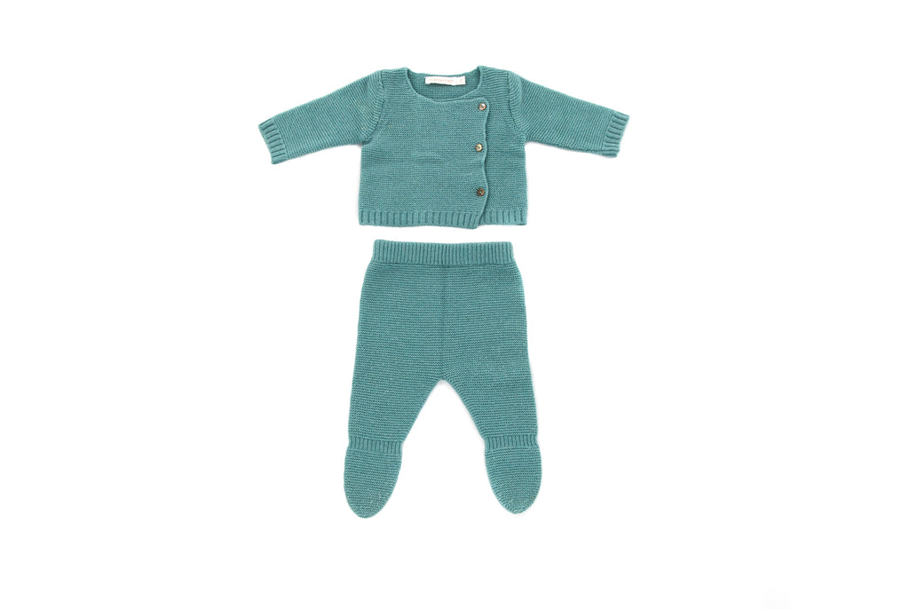 Les Enfantines, Baby Boys Cardigan and Leggings, 0-3 Months