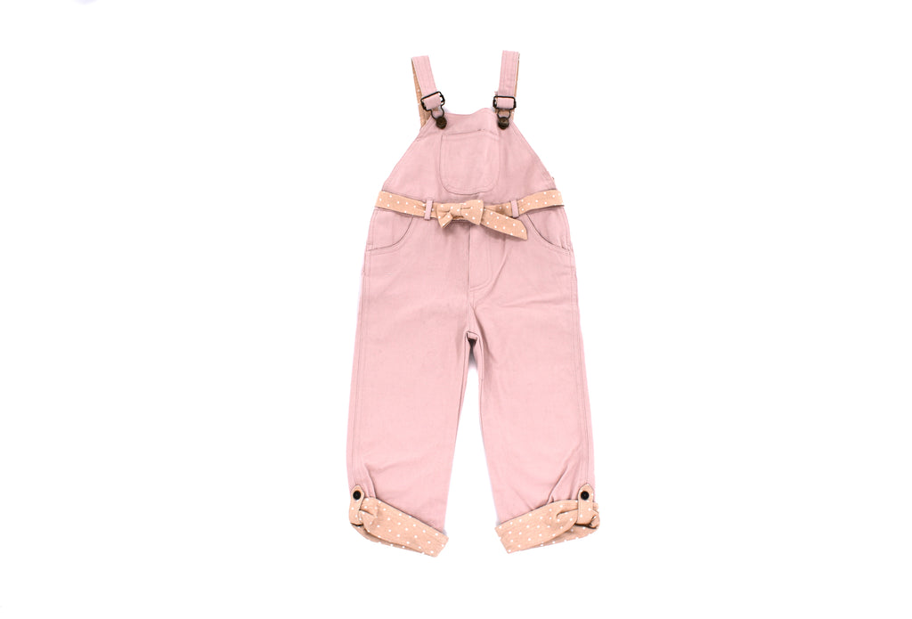 Dotty Dungarees, Girls Dungarees, 3 Years