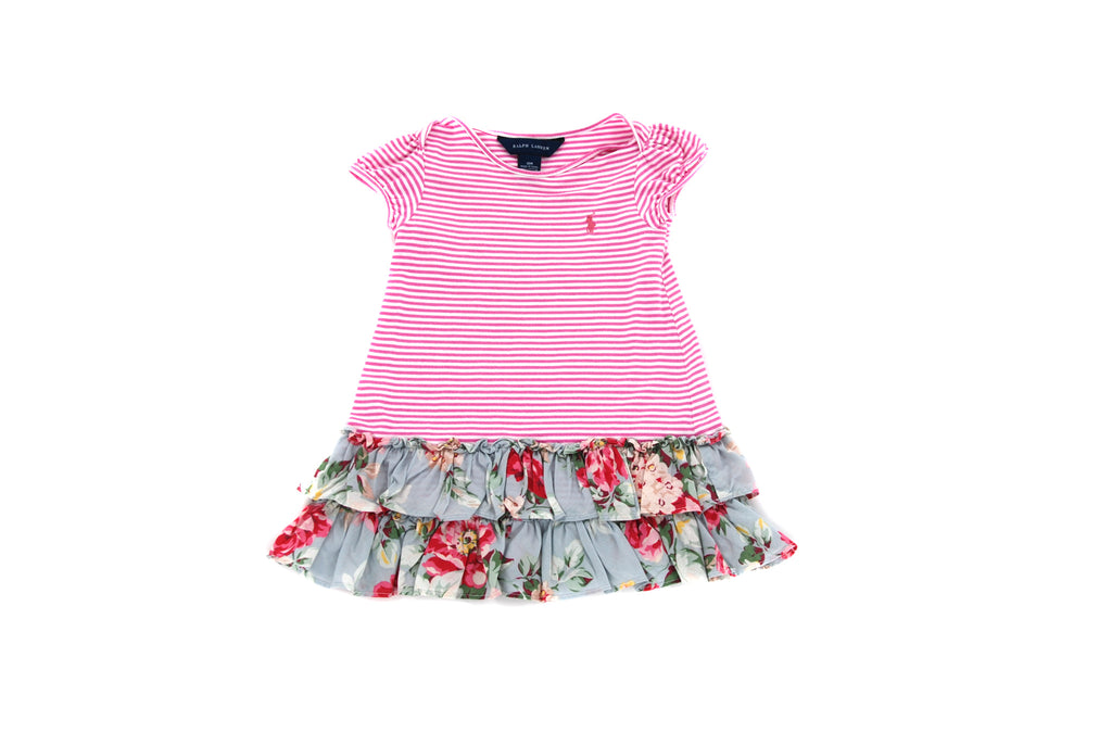 Ralph Lauren, Baby Girls Dress, 12-18 Months