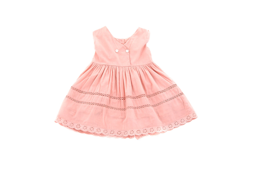 Bonnet a Pompon, Baby Girls Dress, 12-18 Months