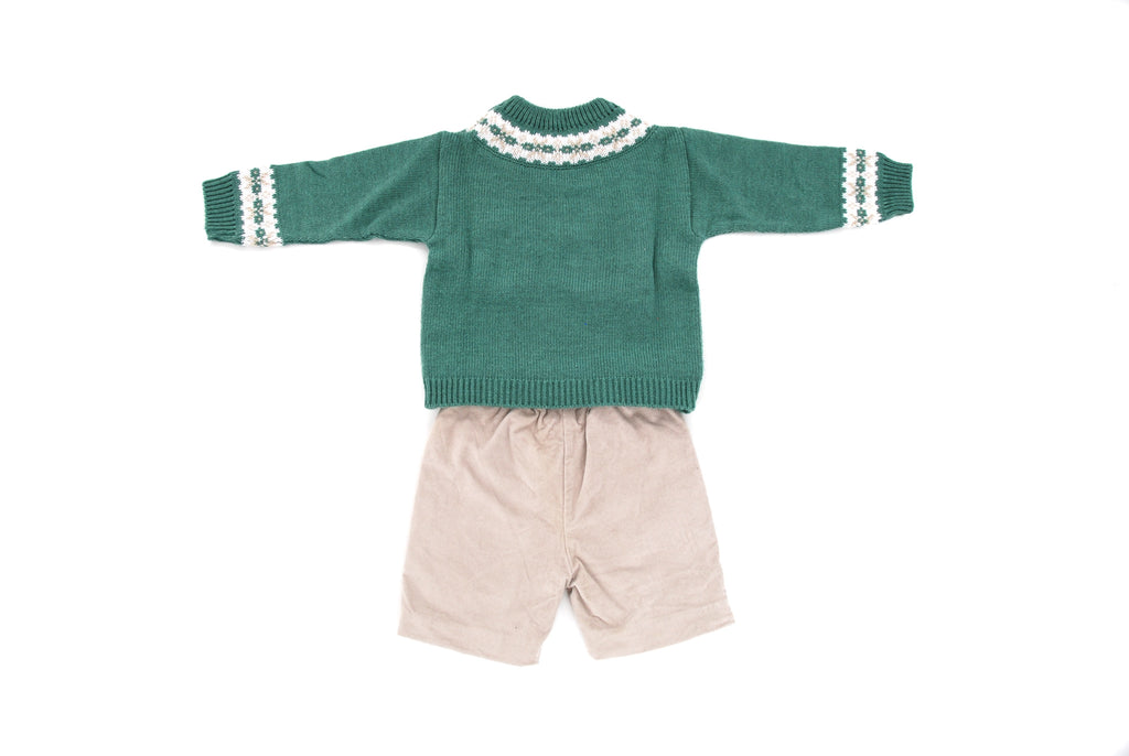 Mebi, Boys Sweater and Short Set, 2 Years