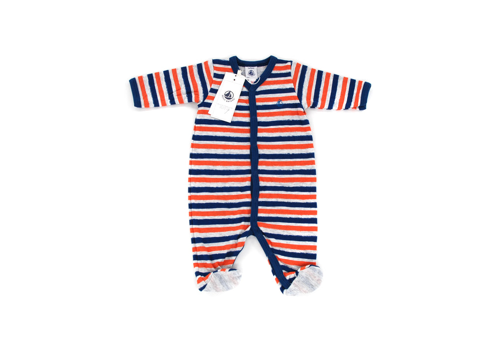 Petit Bateau, Baby Boy All-In-One, 0-3 Months